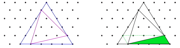 Likesidede trekanter